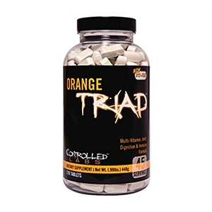 Controlled Labs Orange Triad: Multivitamin, Joint, Digestion, And...